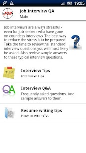 Job Interview Q&A- screenshot thumbnail