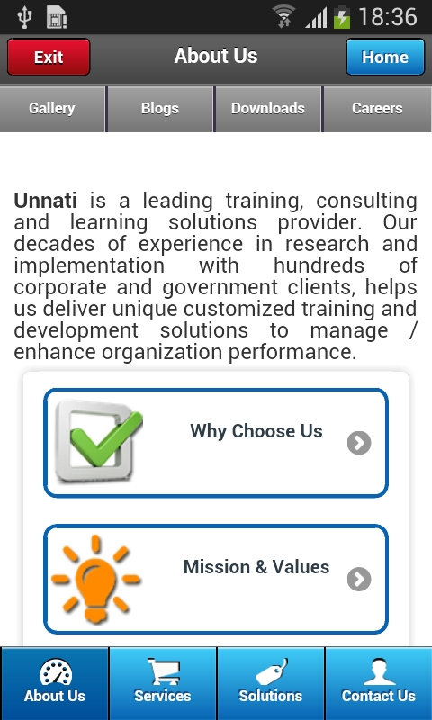 Unnati Unlimited- screenshot