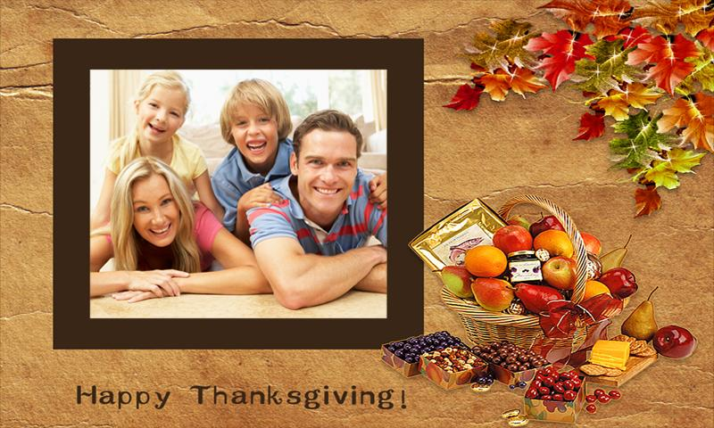 Thanksgiving Frames - screenshot