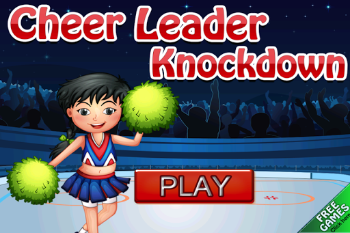 Cheer Leader You Can Knockdown