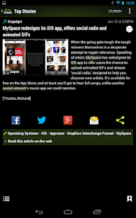 Appy Geek for Tablet - screenshot thumbnail