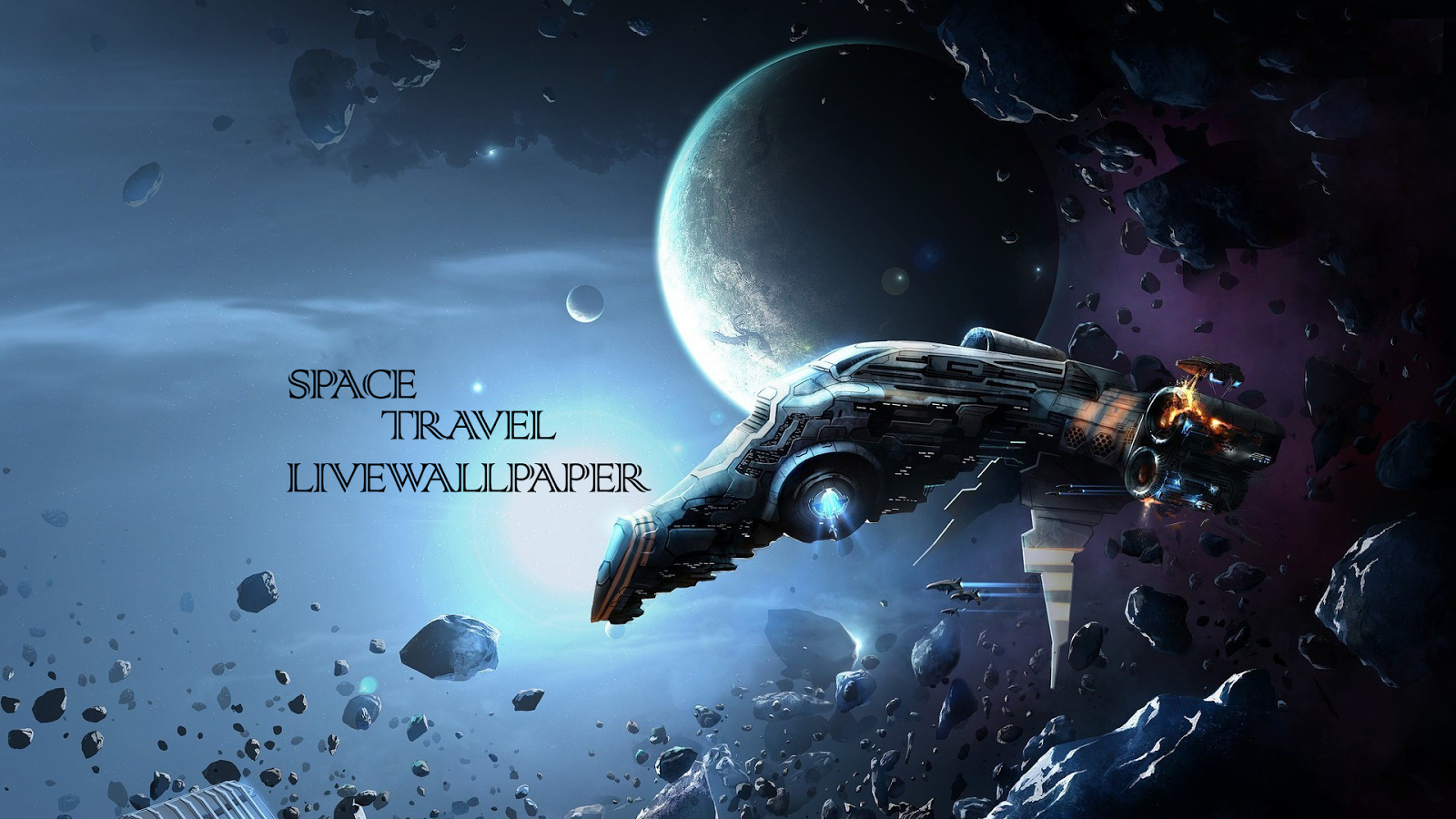 Space Travel Live Wallpaper Screenshot