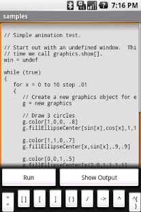Frink Programming Language - screenshot thumbnail