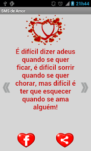 Mensagens de Amor (SMS)- screenshot thumbnail