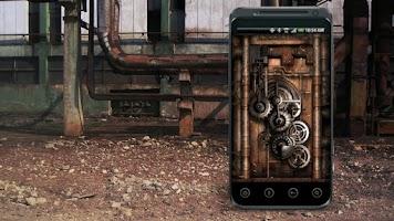 Screenshot of Steampunk Live Wallpaper Gears