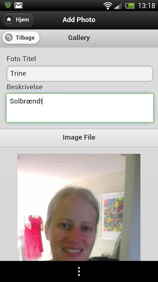Sejlnet- screenshot