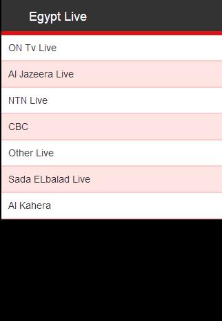 Egypt Live Events Publications