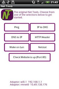 Net Tools Ad Supported