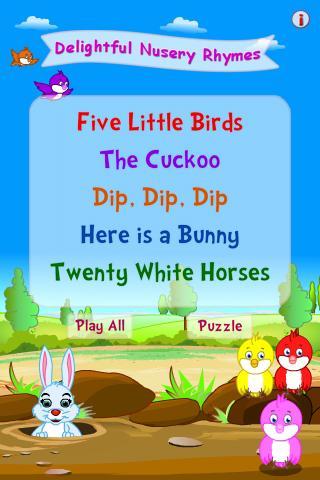 Delightful Nursery Rhymes