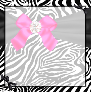 Zebra Love GO SMS Pro Theme - screenshot thumbnail