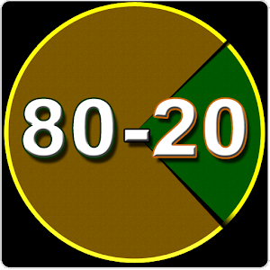 8020 principle dating The 80/20 rule says that you get 80% of what you want from your spouse/girlfriend in your relationship, but there is 20% that you don't or will never get the problem is th.