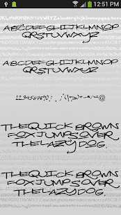 Graffiti Fonts for FlipFont|玩個人化App免費|玩APPs