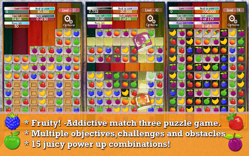 Fruit Drops - Match three game