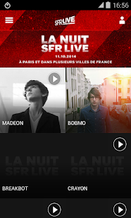 La Nuit SFR Live 2014- screenshot thumbnail