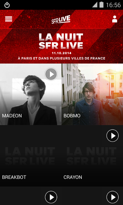 La Nuit SFR Live 2014- screenshot