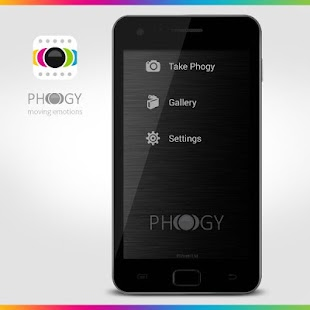 Phogy, 3D Kamera Screenshot