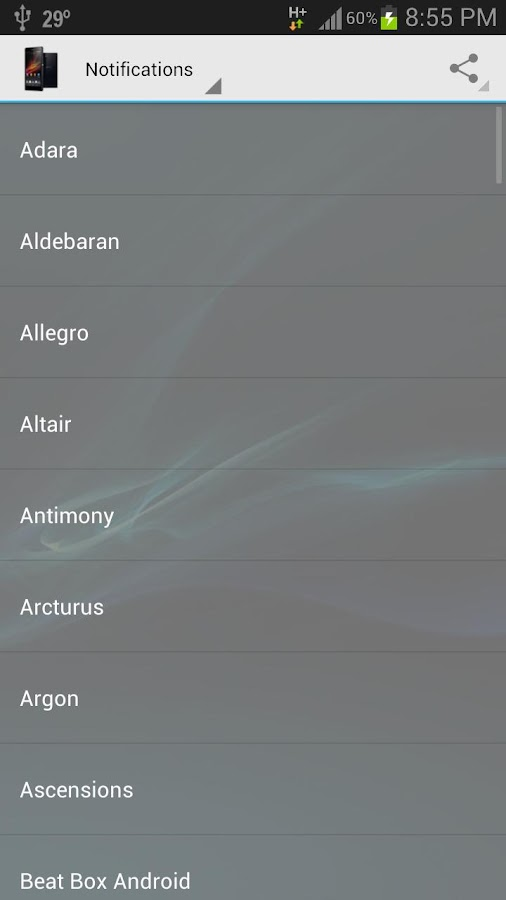 Xperia Z For All - screenshot