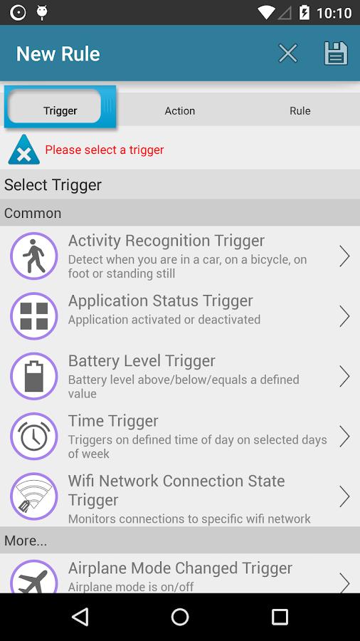 AutomateIt Pro- screenshot