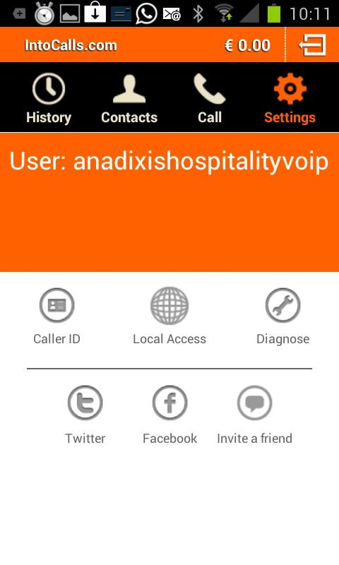 IntoCalls.com - Cheap Voip! - screenshot