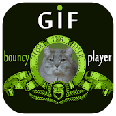 Bouncy GIF Player LWP+W+D