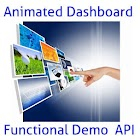 Animated Dashboard API icon