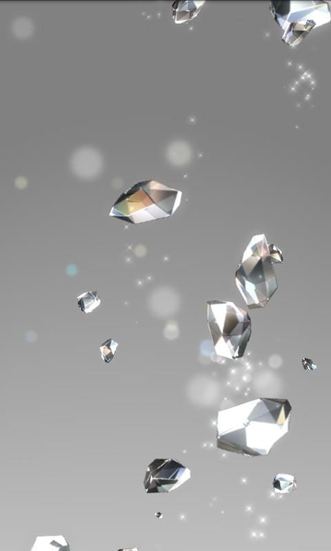 Crystal Live Wallpaper- screenshot