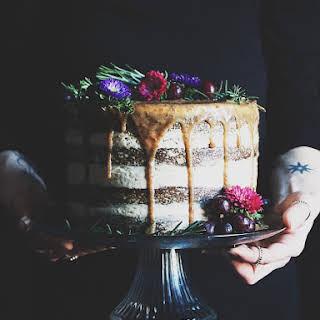 Rum Raisin Kefir Cake.
