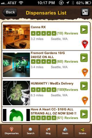 THCFinder - Dispensary Finder- screenshot