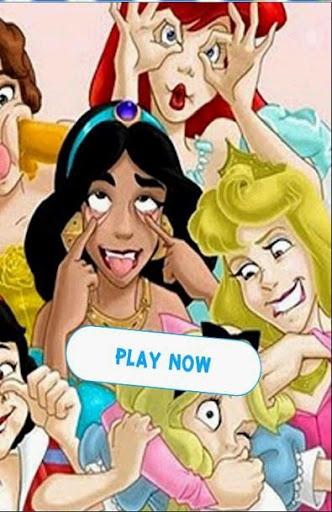 Princess Memory Matching Game