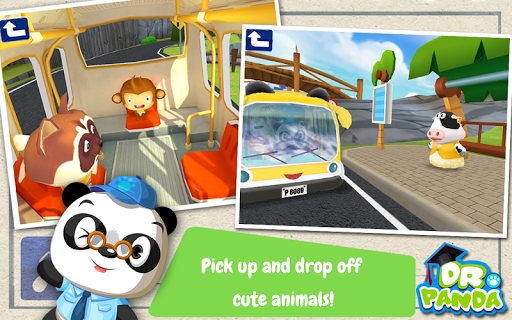 Dr. Panda Bus Driver  screenshots 4