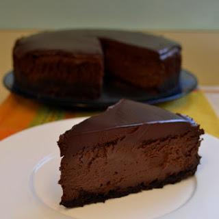 Triple Chocolate Mocha Cheesecake.