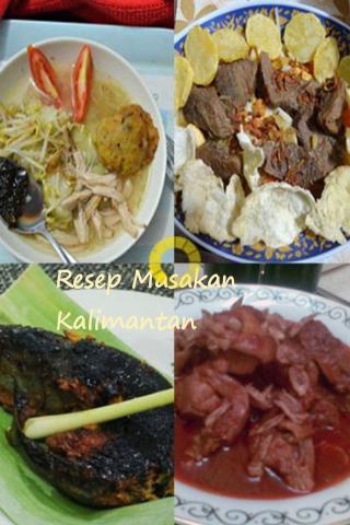 Resep Masakan Kalimantan