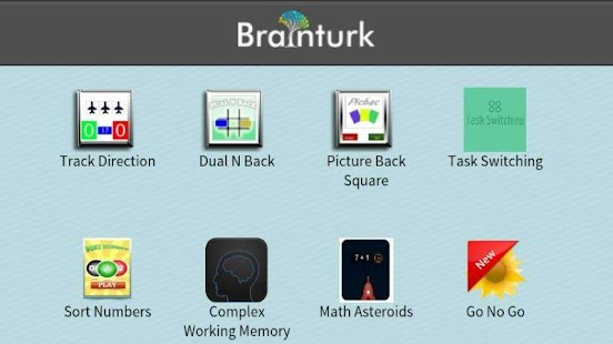 Brainturk Lite Brain Trainer - screenshot thumbnail