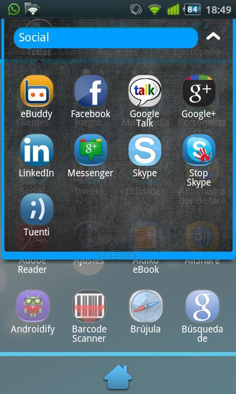 Uebdisain Theme 4 GO Launcher - screenshot
