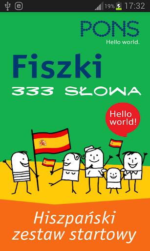 Fiszki - 333 słowa hiszpańskie