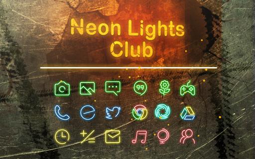 Neon Lignts Club Theme