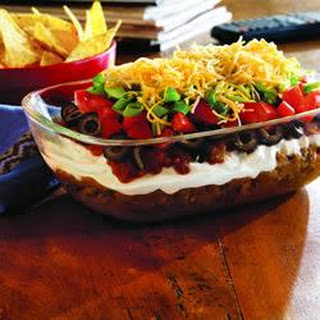 7 Layer Taco Dip With Refried Beans Recipes.
