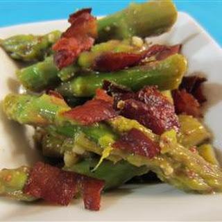 Asparagus and Pancetta Salad