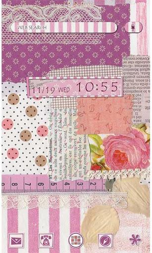 Girly Theme Sweet Pink Collage 1.0.0 Windows u7528 1