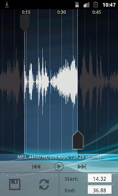 Мелодии для телефона - screenshot