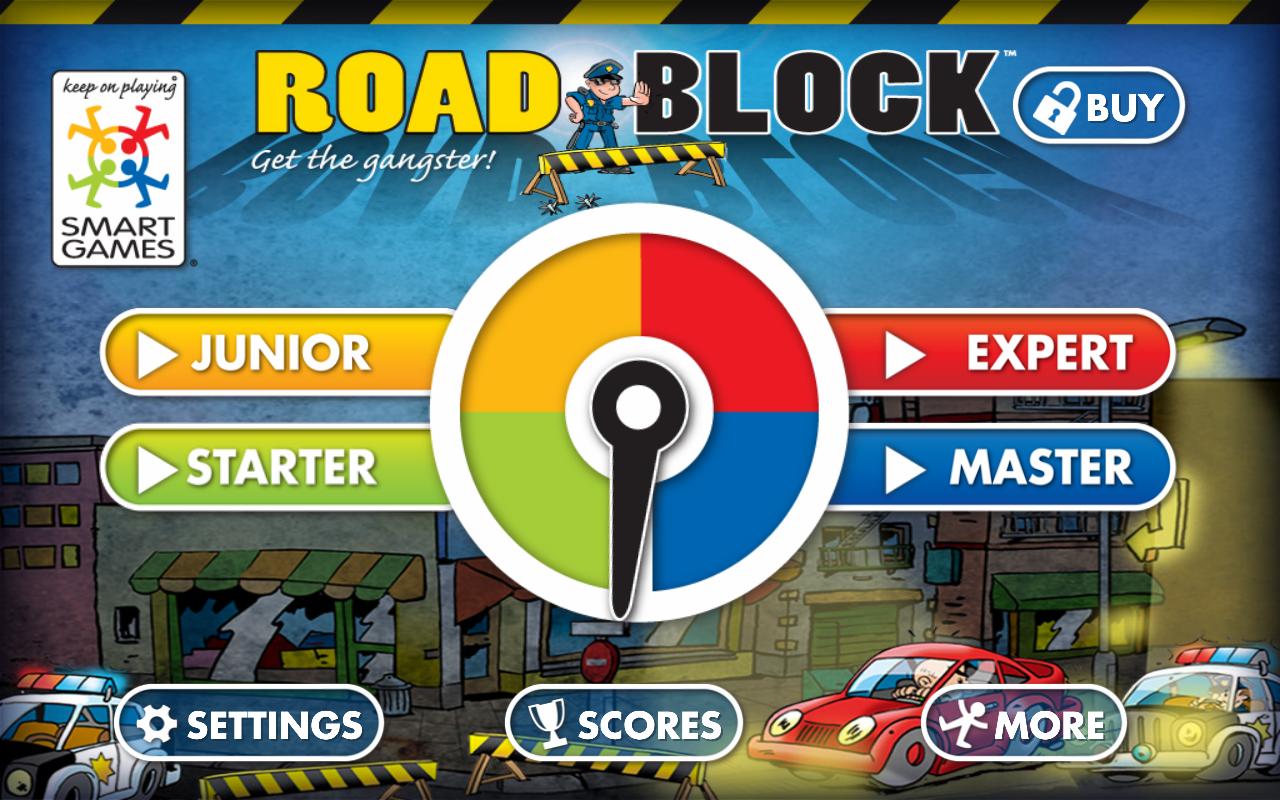 Roadblock by SmartGames - screenshot