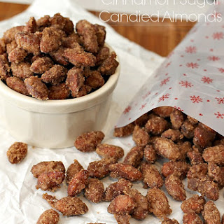 Slow Cooker Cinnamon Sugar Candied Almonds