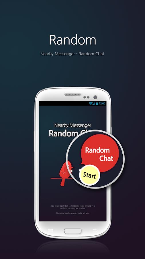 Nearby Messenger (Random Chat) - screenshot