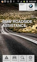 Screenshot of BMW Roadside