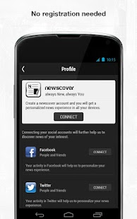 newscover - screenshot thumbnail