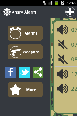Angry Alarm Lite - screenshot