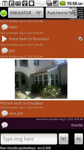 ChirpMe PTT Walky Talky - screenshot thumbnail