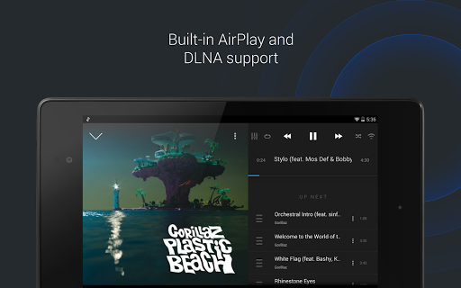 doubleTwist Music & Podcast Player with Sync 3.3.5 screenshots 9