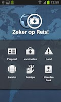 Screenshot of Zeker op Reis