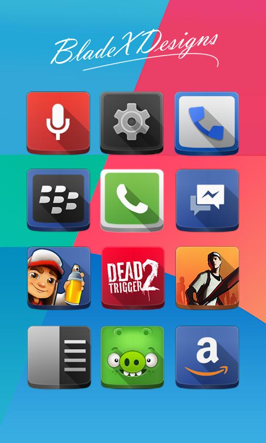ShadeX (Apex Nova holo theme) - screenshot